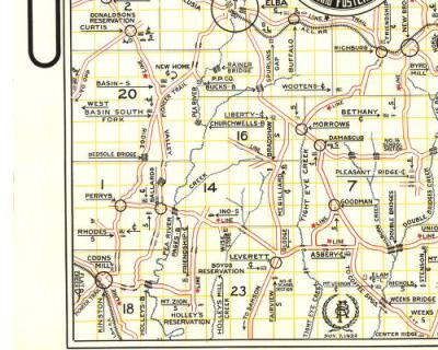 Kinston Area 1922, Donated by Hugh Weeks